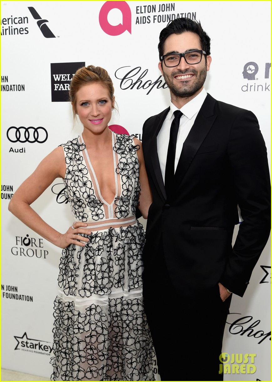 Brittany Snow with ex-boyfriend Tyler Hoechlin