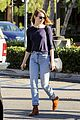 emma stone grabs more groceries while back in los angeles 13