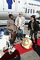 the force awakens cast flies to london in r2d2 plane 01