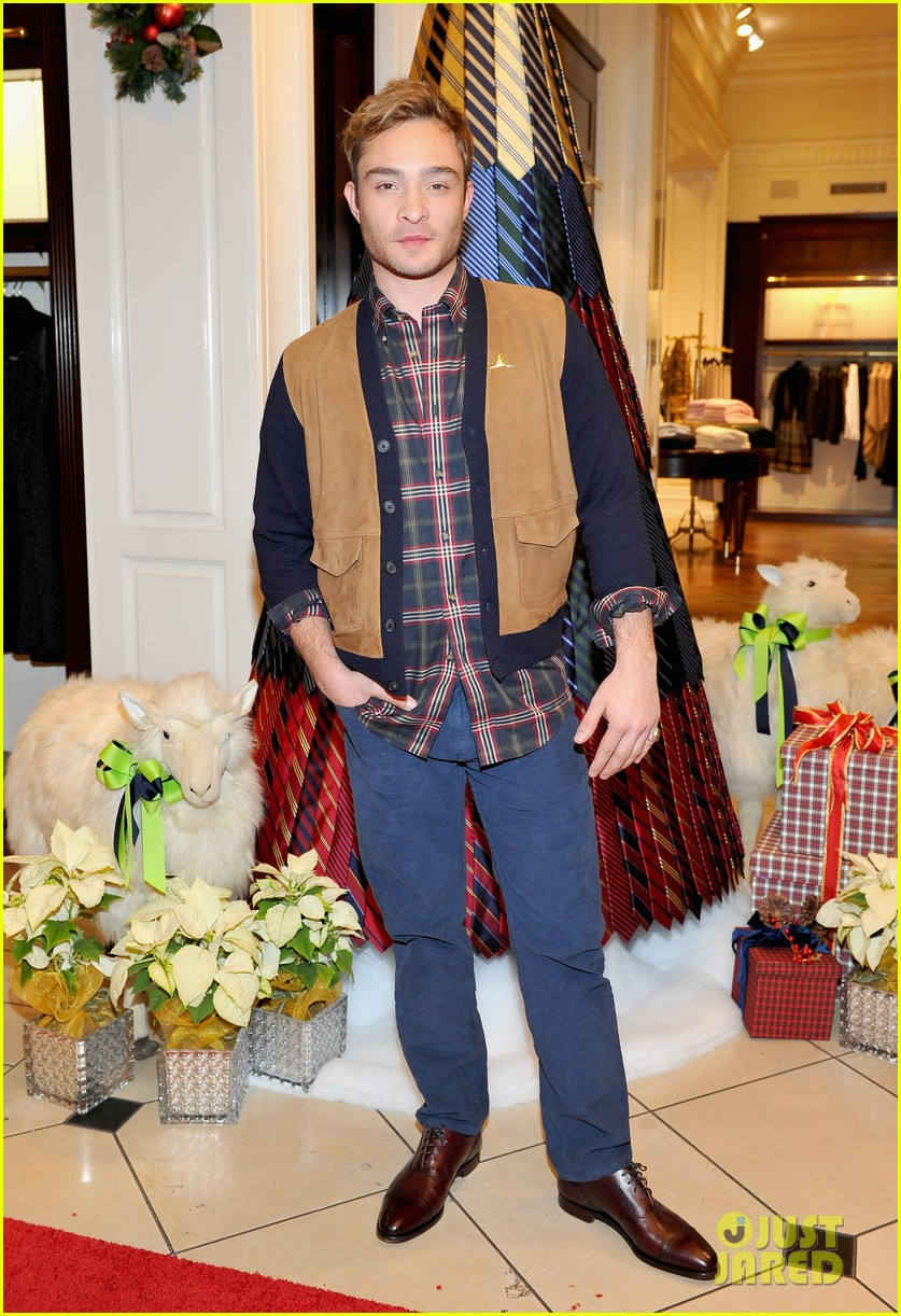 Camilla Belle, Jesse Metcalfe & Cara Santana Make Holiday Ornaments At  Brooks Brothers' Holiday Party For St Jude