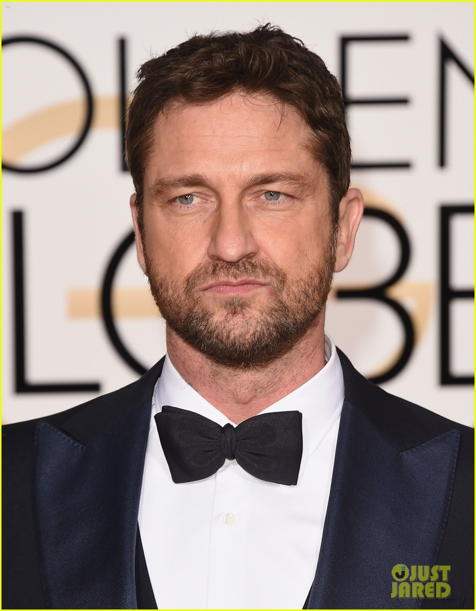 Gerard Butler Has a Suave Night Out at the Golden Globes ... Gerard Butler 2016