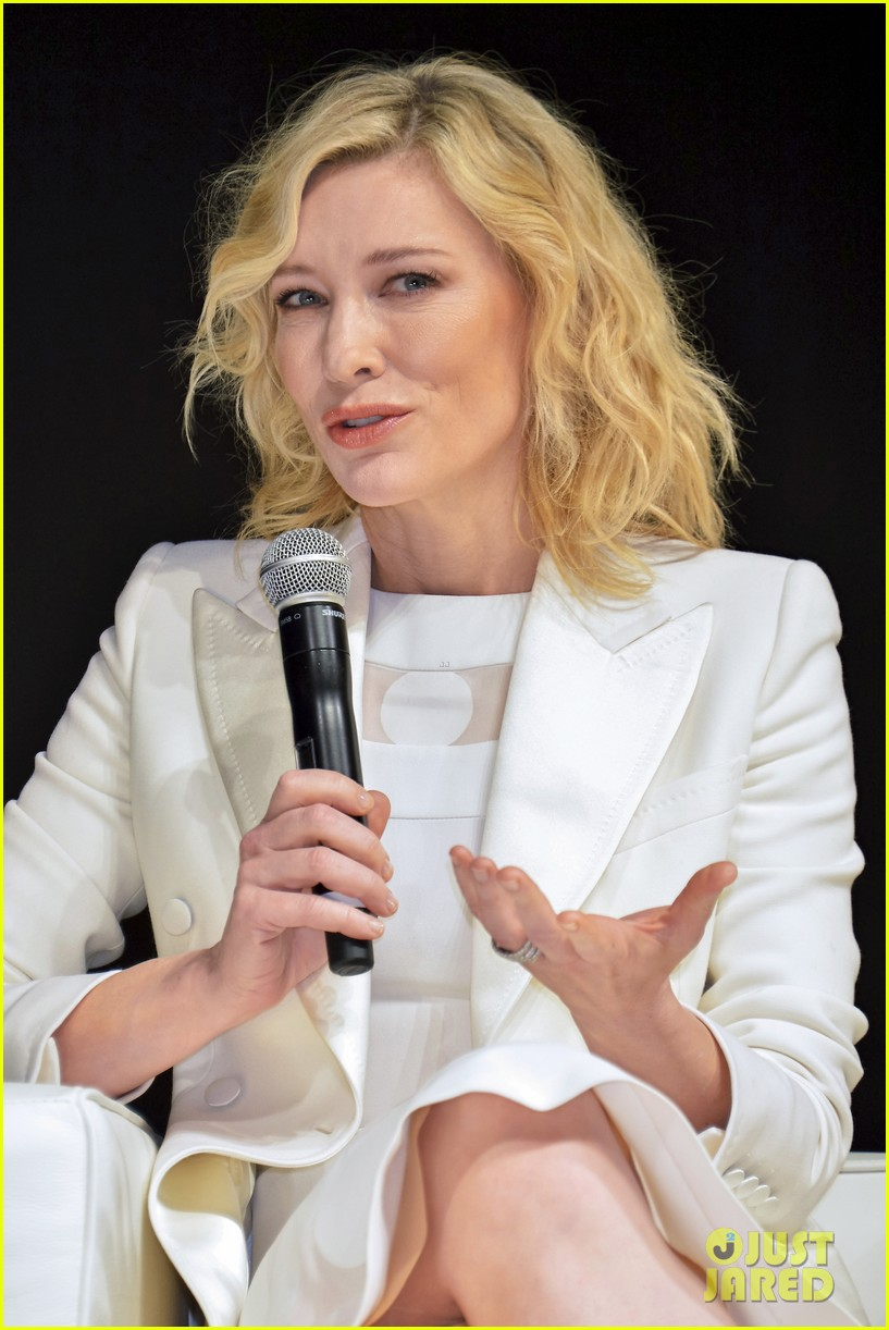 Cate Blanchett Had Fears About Making 'Carol': Photo ... Cate Blanchett 2016