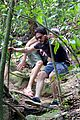 kit harington plays tourist in brazil rain forest 35