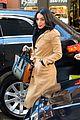 vanessa hudgens wears brown coat promoting grease live 22