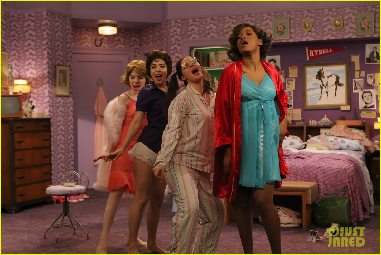 Full Sized Photo Of Grease Live Marty Keke Palmer Sings Freddy My