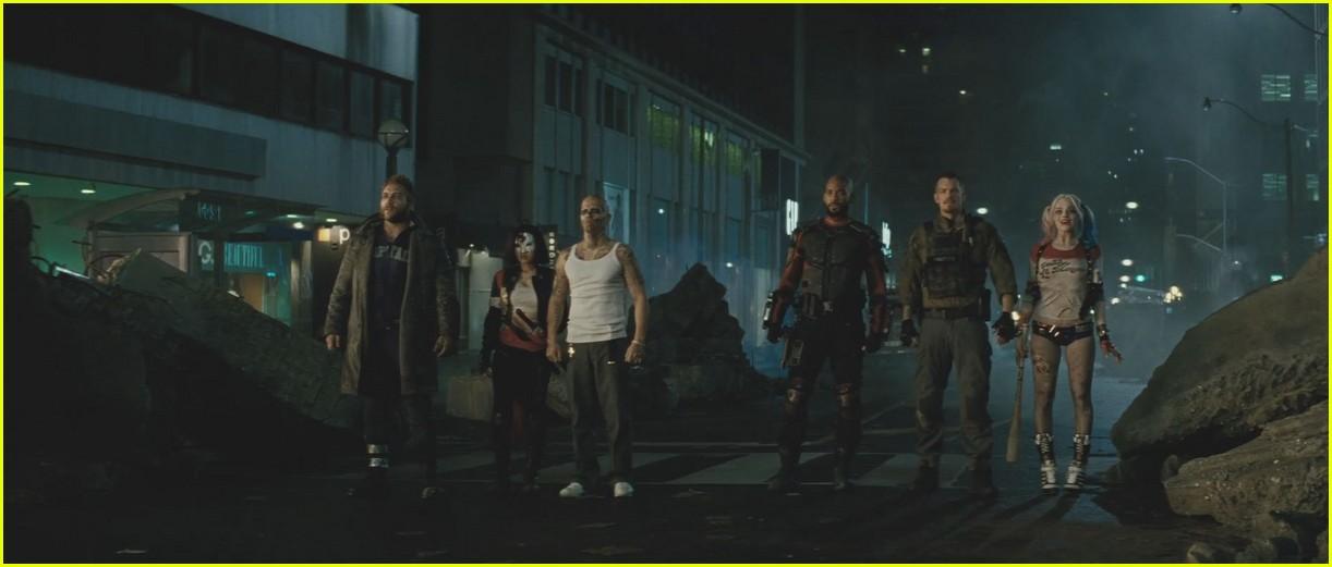 suicide squad official trailer debuts online 13