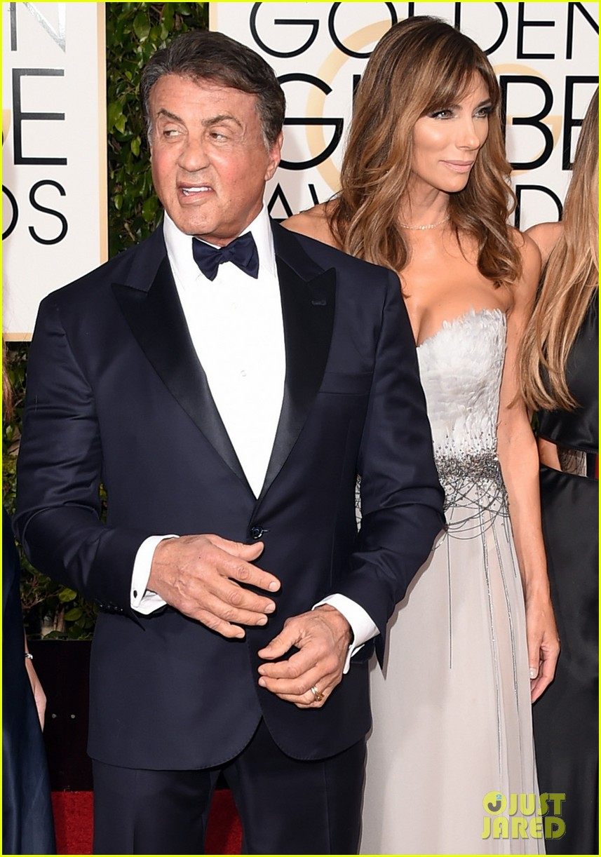Full Sized Photo of sylvester stallone joined by family at ...