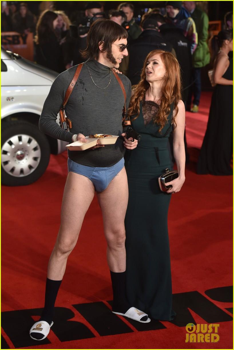 Full Sized Photo of sacha baron cohen pantsless grimsby ... Sacha Baron Cohen Spouse