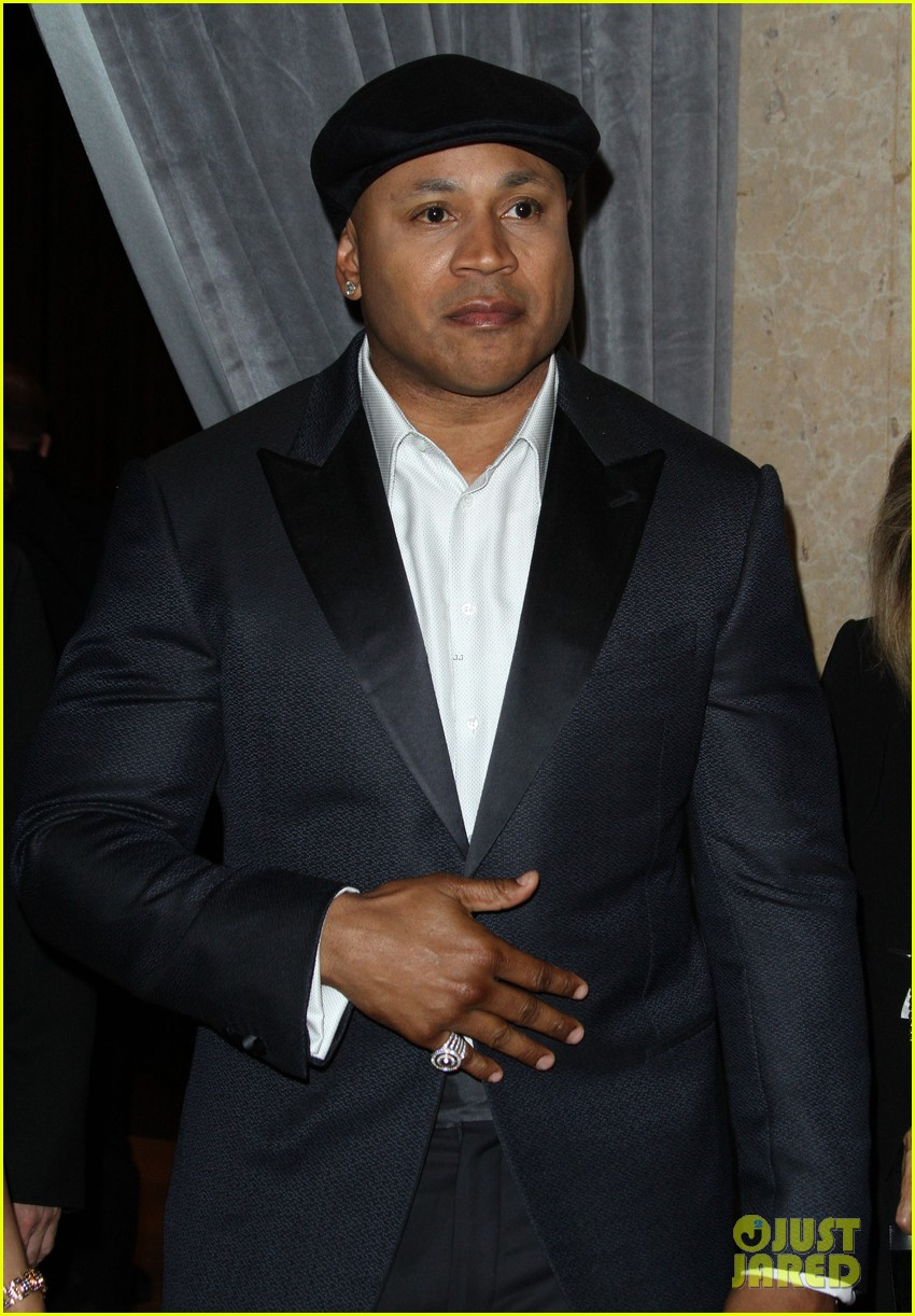 LL Cool J & Wife Simone Smith Attend Pre-Grammys Party ...