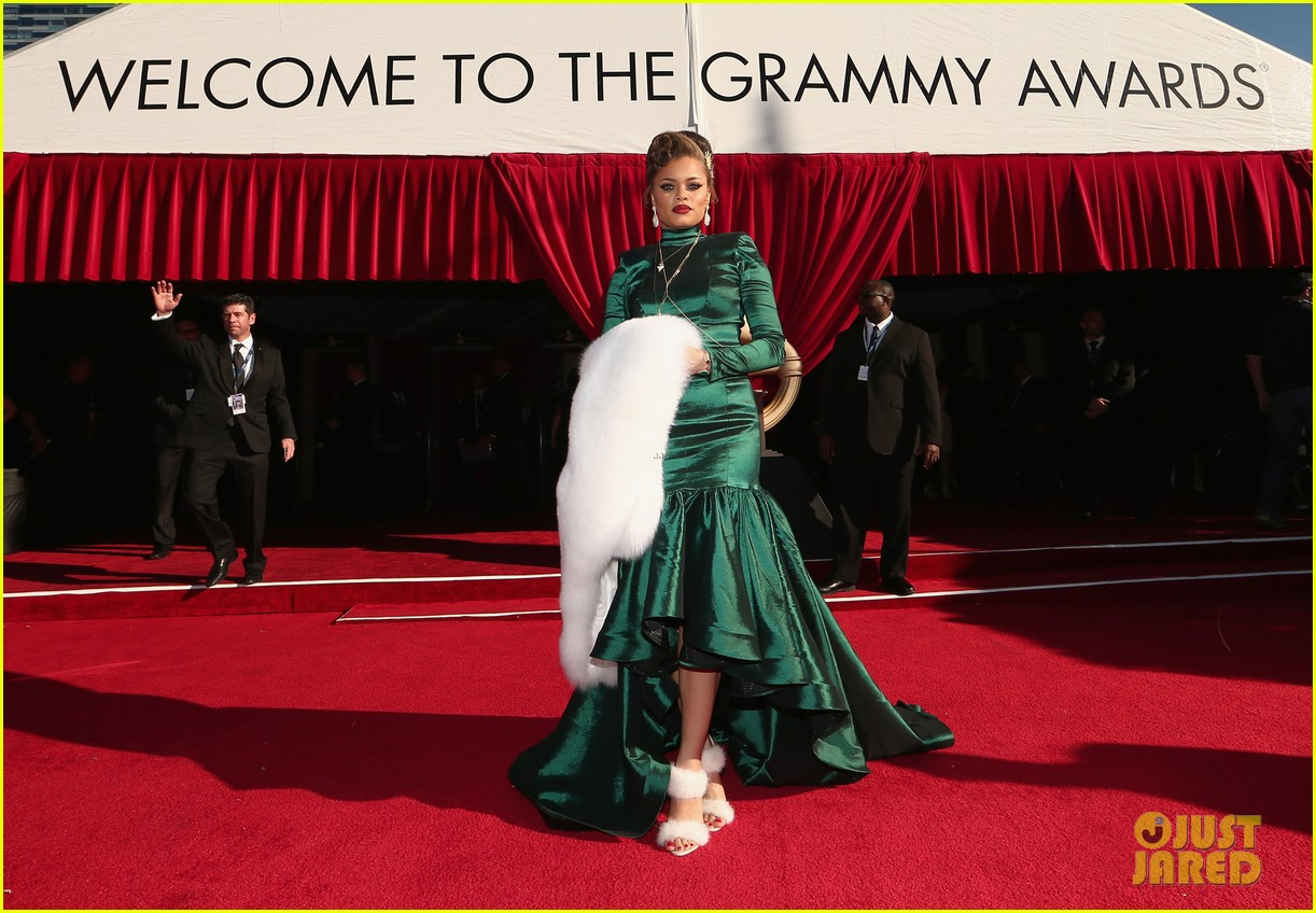 Andra Day Gets Glamorous At The Grammys 2016 Photo
