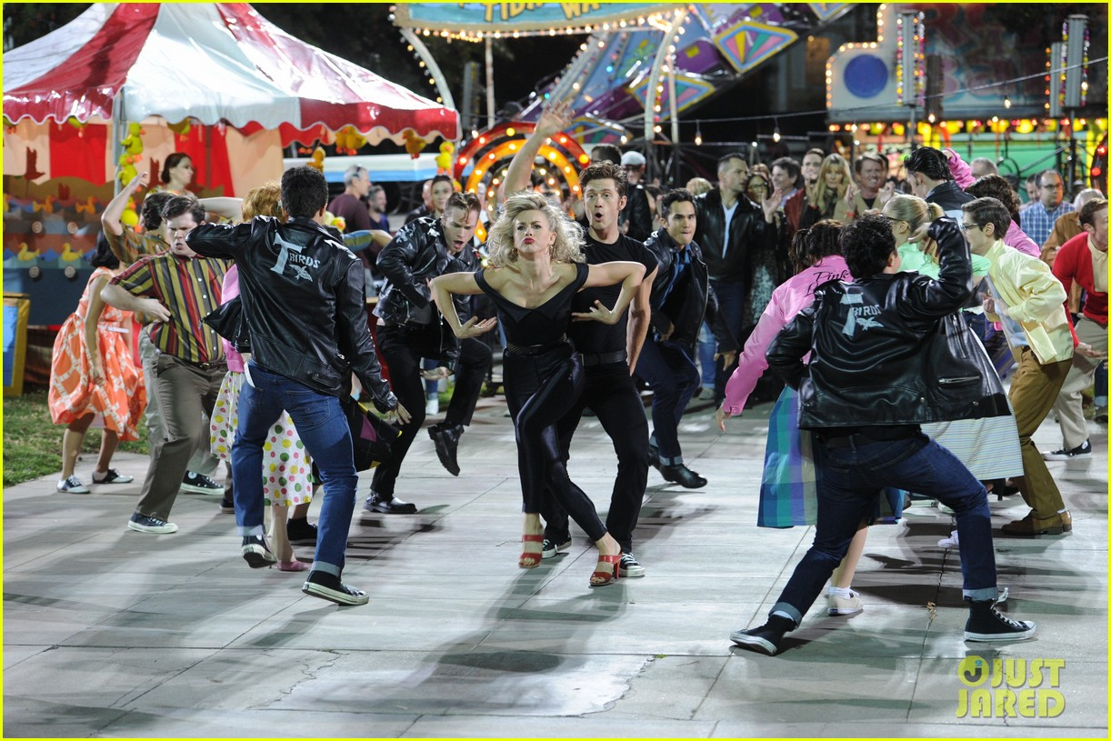 grease live full cast songs list 23