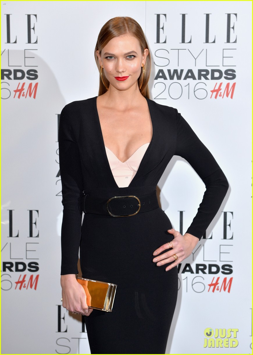 karlie kloss lana del rey win big at elle style awards 073586762