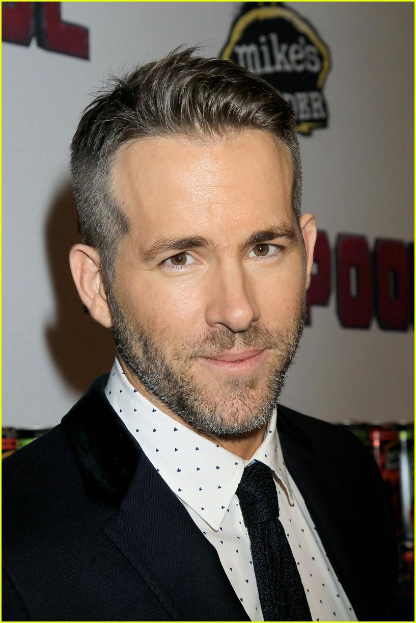 Ryan Reynolds & Blake Lively Couple Up at 'Deadpool ... Ryan Reynolds