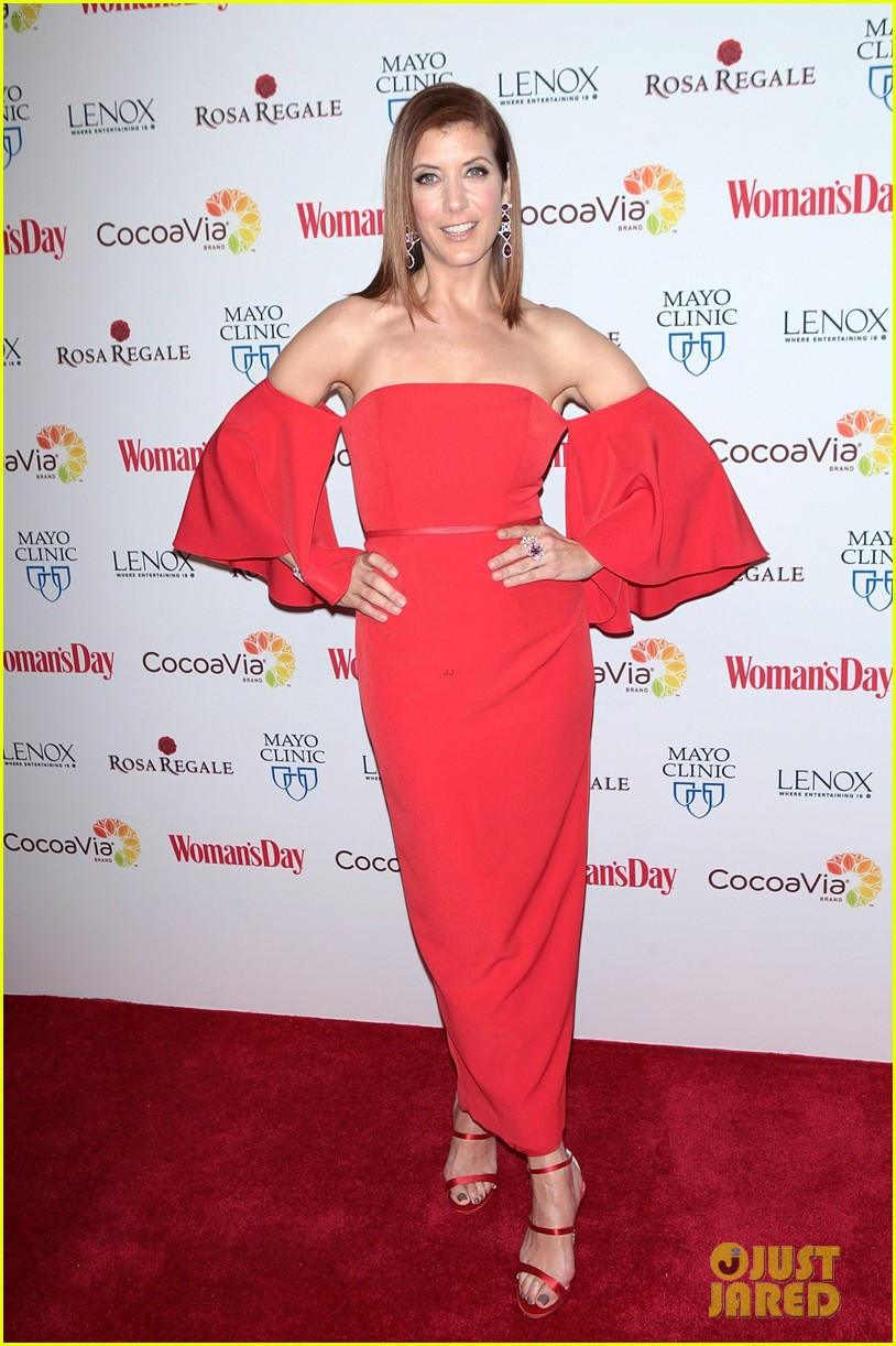 kate walsh supports american heart month at womans day 02