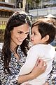jordana brewster brings son julian to alliance of moms event 02