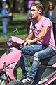zac efron the rock film baywatch on a scooter 43