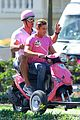 zac efron the rock film baywatch on a scooter 69