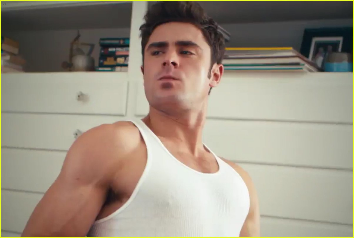 zac efron has a major selfie stick addiction in this funny video watch now photo 3605717. Black Bedroom Furniture Sets. Home Design Ideas