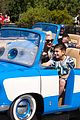 gwen stefani takes her son kingston to disneyland cars land 02