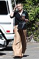 hilary duff son luca takes the fire truck around the neighborhood 02