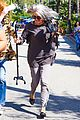 khloe kardashian kendall jenner kylie jenner disguise run from photographers 05
