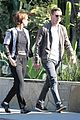 kate mara jamie bell couple up for afternoon errands 08