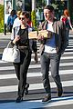 kate mara jamie bell couple up for afternoon errands 16