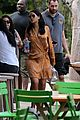 rihanna hangs by the pool in miami 10