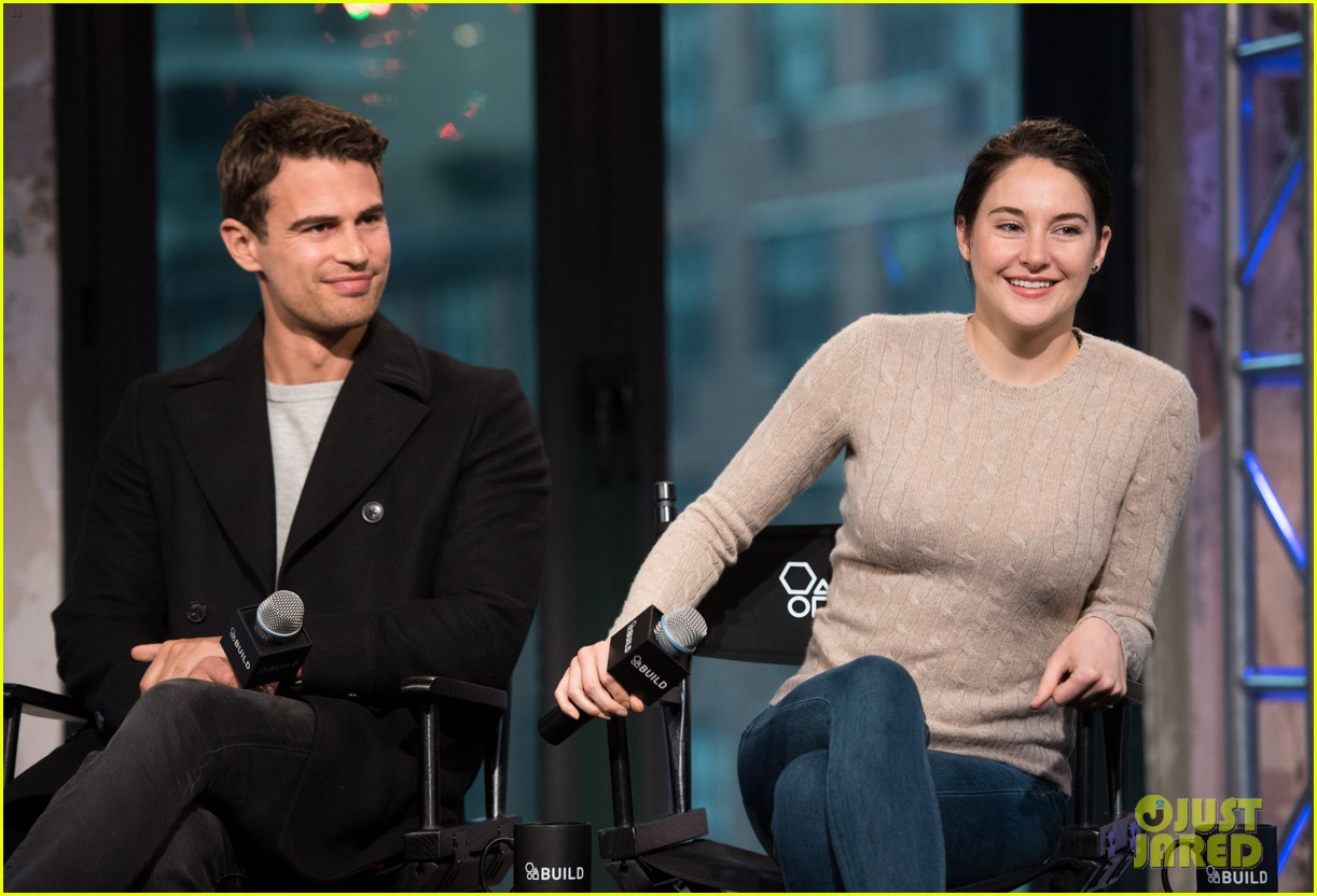 miles teller shailene woodley and theo james interview on dating