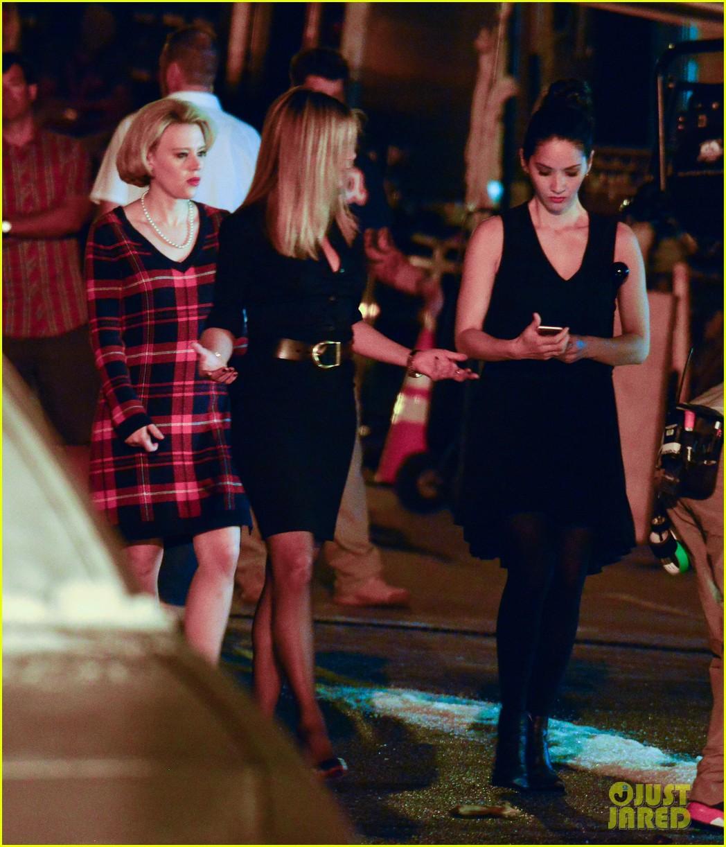 Jennifer Aniston & Olivia Munn Start Work on 'Office Christmas ...