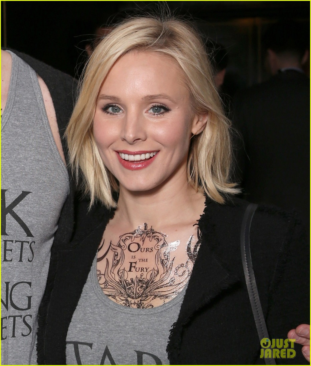 Pics For > Kristen Bell Tattoos
