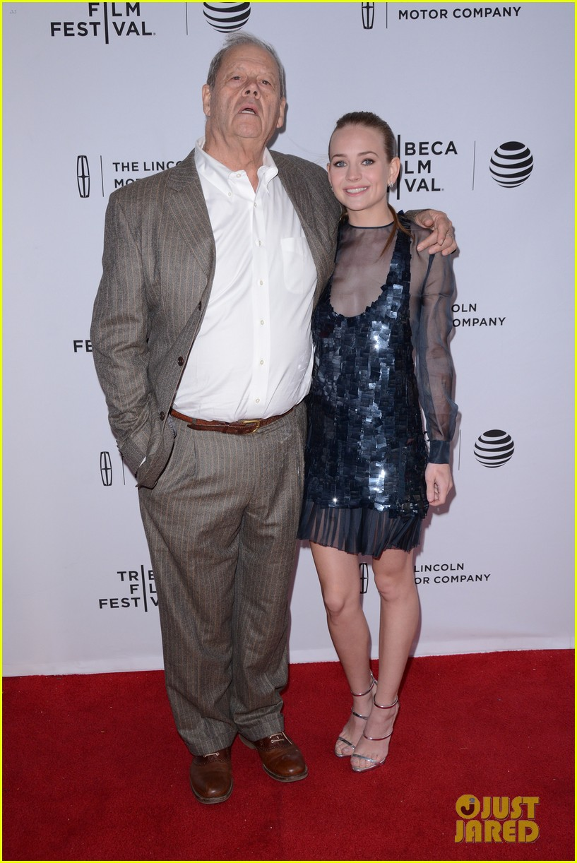 britt robertson costars mr church tribeca premiere 07