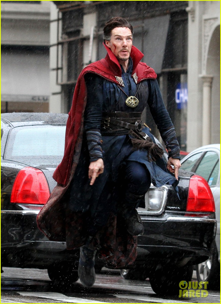 UPDATE: Get Your Best Look At DOCTOR STRANGE & 'Baron Mordo' In Magical New Set Photos & Video