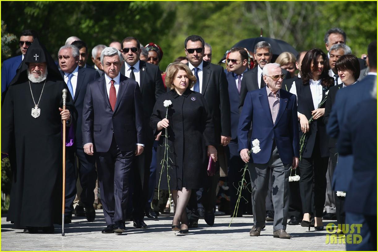 george clooney genocide memorial armenia 12