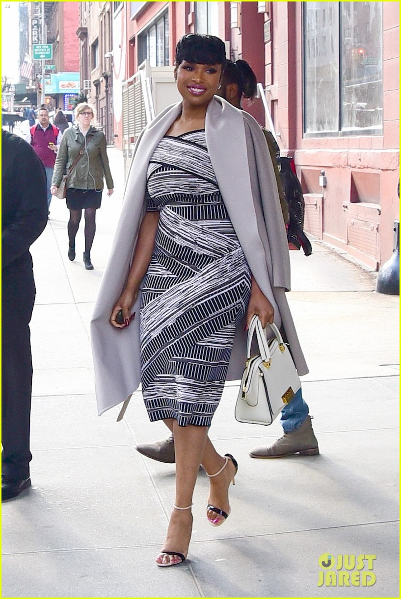 jennifer hudson shows off her sons awesome hairstyle 033632546