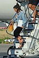 kim kourtney kardashian land in los angeles 05