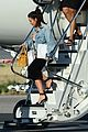 kim kourtney kardashian land in los angeles 25