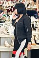 blac chyna shows off baby bump while shoe shopping 02