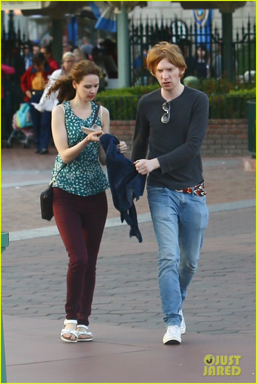 Domhnall Gleeson Spends the Day at Disneyland With Rumored ...