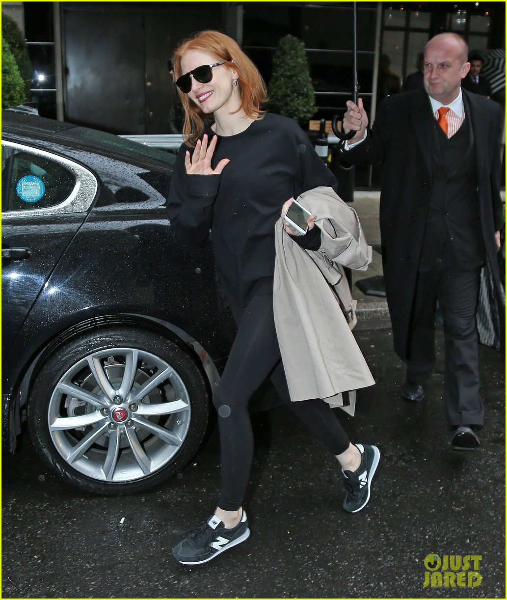 Jessica Chastain Gets In A Workout Before Met Gala 2016