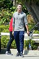 patrick schwarzenegger abby champion weekend workout undying 10