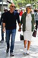 pregnant bar refaeli and hubby adi ezra stroll around barcelona 18