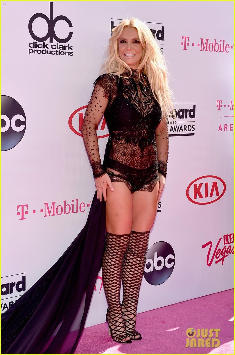 Britney Spears Skips Pants Looks Fierce At Billboard
