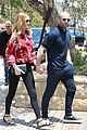 rosie huntington whiteley jason statham hold hands malibu 07