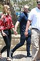 rosie huntington whiteley jason statham hold hands malibu 09