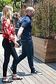 rosie huntington whiteley jason statham hold hands malibu 10