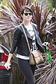 emma stone runs errands before mothers day 05