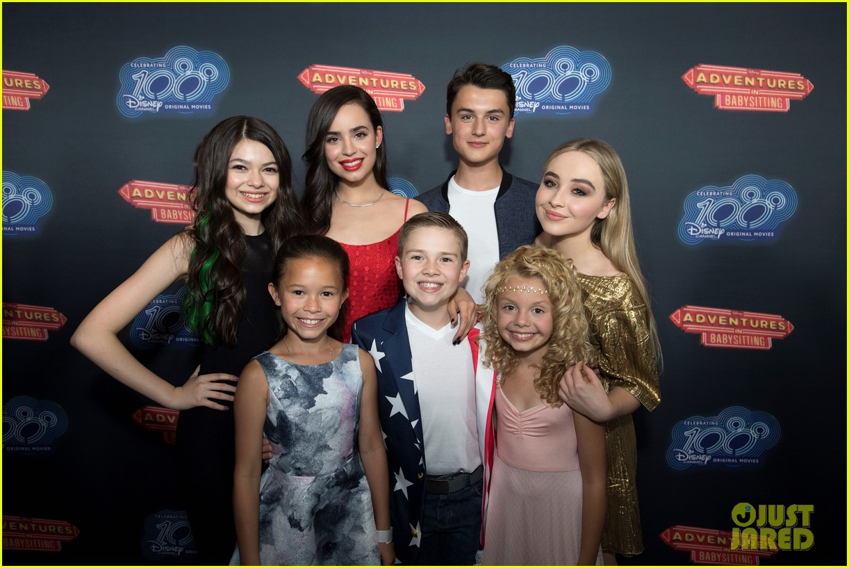 Disney Channel S New Adventures In Babysitting Cast