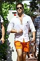 diego boneta shows off his buff chest in miami 02