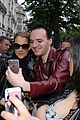 celine dion greets her fans with son rene charles angelil 23